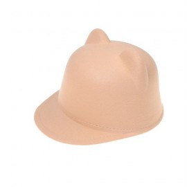 Toddler Cap with Ears (Beige)