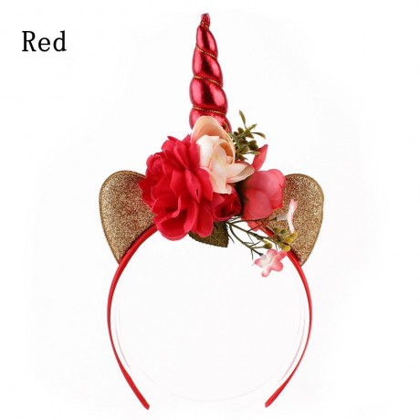 Antlers Headband with Ears