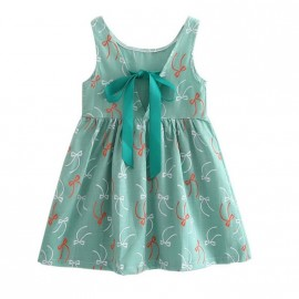 Abigail - Teal With Bows