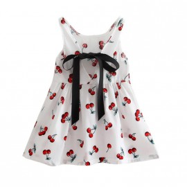 Abigail - White Cherry Dress