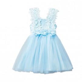 Ava Dress - Blue