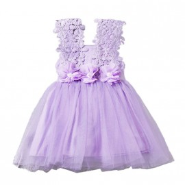 Ava Dress - Purple