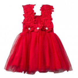 Ava Dress - Red