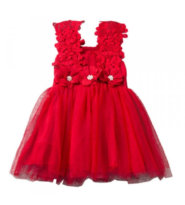 Ava Dress - Red
