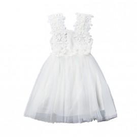 Ava Dress - White