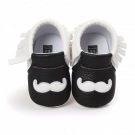 Mustache Moccasins
