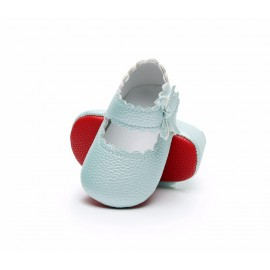 Mary Jane Red Bottom Collection - Ice Blue