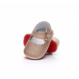 Mary Jane Red Bottom Collection - Rose Gold