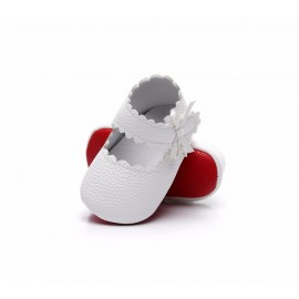 Mary Jane Red Bottom Collection - White