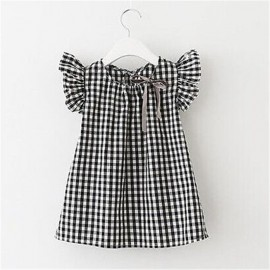 Black and White Checkered Top