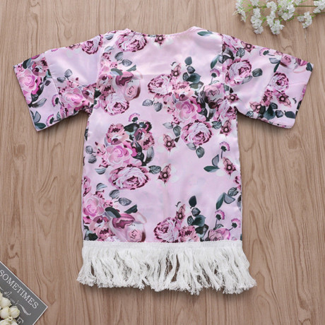 Floral Cover Up - Pink