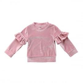 Crushed Velvet Sweater