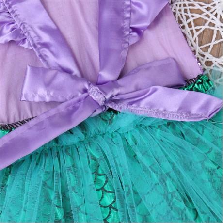 Mermaid (Purple/Green) Romper