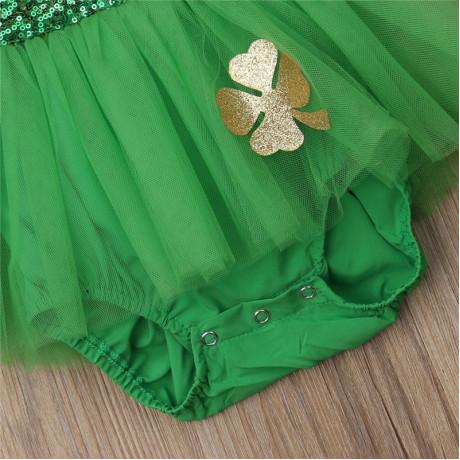 St. Patrick's Day Romper